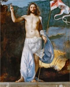 Titian Risen Christ