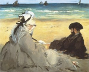 Manet-Sulla-sabbia-1873-Sur-la-plage-On-the-beach