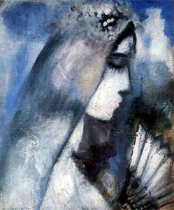 Marc_Chagall_-_Mariee_eventail