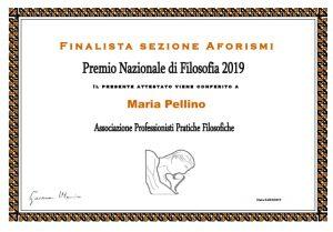 Tracce di sé - aforismi di Maria Pellino