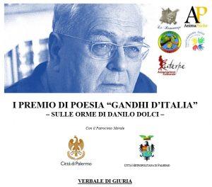"""I Premio di Poesia """"Gandhi d'Italia – Sulle orme di Danilo Dolci� – Ecco i Premiati..."""
